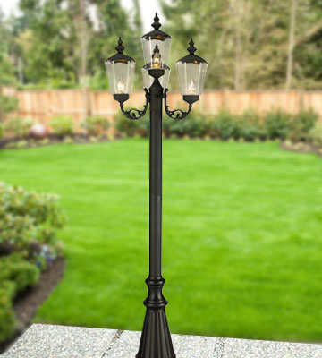 Review of Patio Living Concepts Cambridge 00440 Four Lantern Patio Lamp