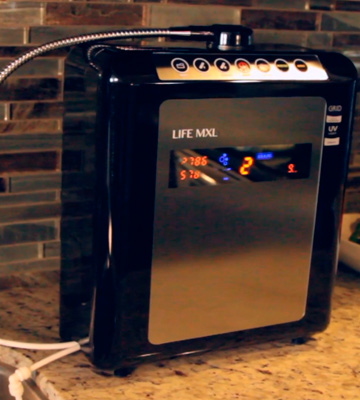 Review of Life Ionizers M9 Under Counter Water Life Ionizer