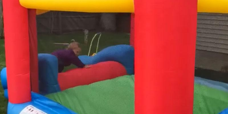 Detailed review of Bounceland Inflatable Party Castle Bounce House Bouncer
