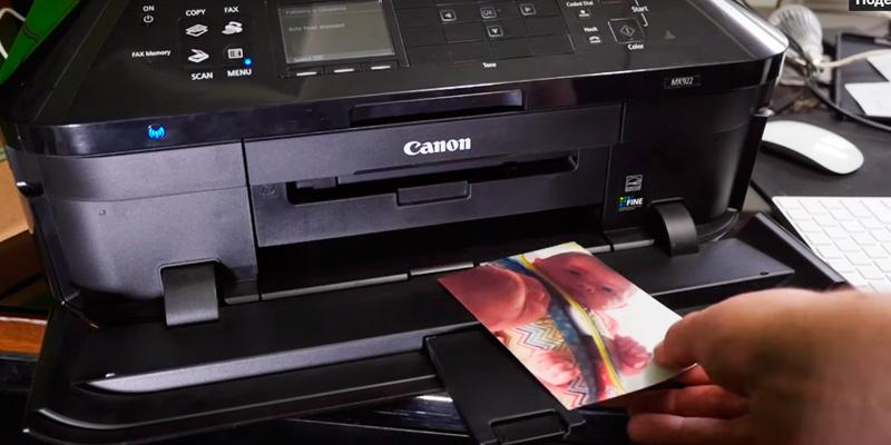 Canon MX922 Wireless Office All-In-One Inkjet Printer in the use
