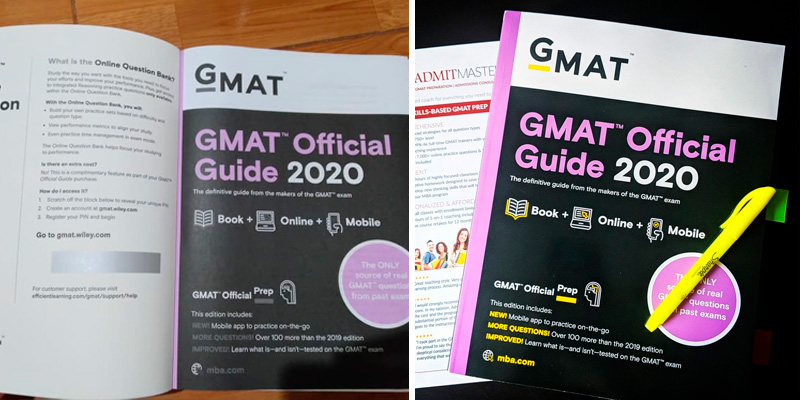 Review of The Graduate Management Admissions Council 2020 GMAT Official Guide