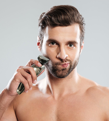 Review of Hatteker RSCX-9598A Men's Electric Rotary Shaver and Beard Trimmer