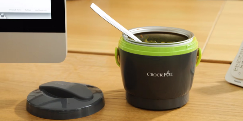 Review of Crock-Pot SCCPLC200-EM-SHP Lunch Crock Food Warmer, 20 ounce, Green