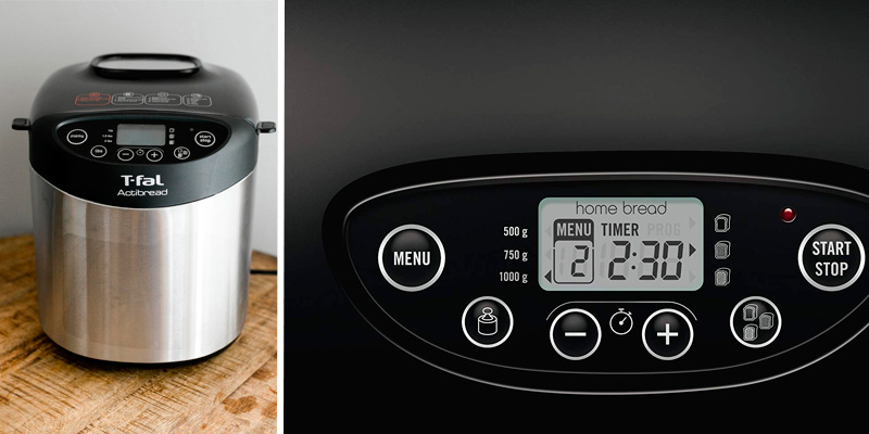 Detailed review of T-fal PF311E ActiBread Bread Maker with LCD Display