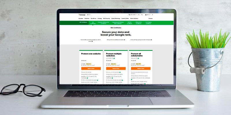 Review of GoDaddy SSL Certificates