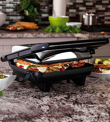 Review of Hamilton Beach 25460A Panini Press