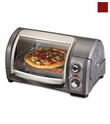 Hamilton Beach 31334 Easy Reach Toaster Oven, Pizza Oven