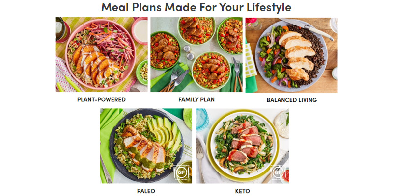 Green Chef Healthy Meal Kit Delivery Service in the use