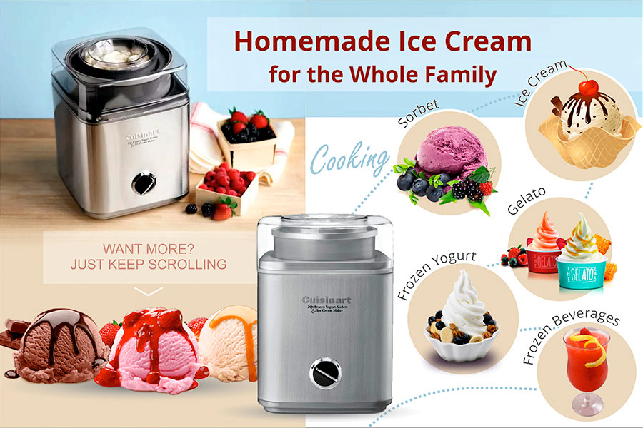Comparison of Ice Cream Makers
