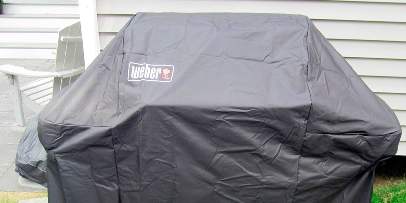 Review of Weber 7107 Grill Cover with Storage Bag for Genesis Gas Grill