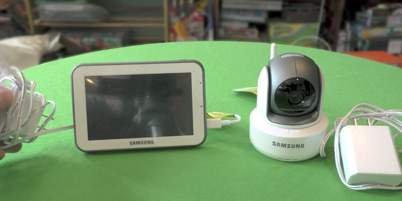 Detailed review of Samsung SEW-3043W BrightVIEW Baby Video Monitoring System