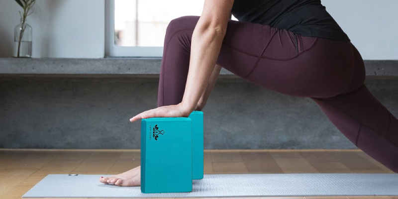 Review of Heathyoga 2 Pack Yoga Block and Yoga Strap Set