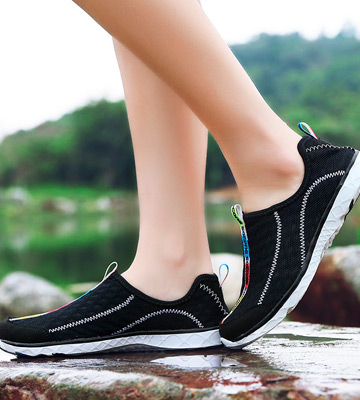 Review of Aleader Mesh Slip On Water Shoes