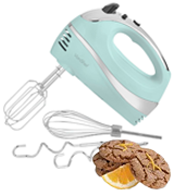 VonShef 13/328 Electric Hand Mixer