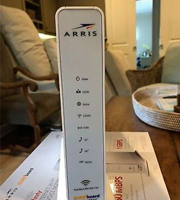 Review of ARRIS SURFboard (SVG2482AC) 24x8 Docsis 3.0 Cable Modem/Telephone/AC1750 Wi-Fi Router