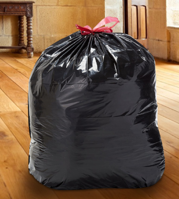 Review of Solimo Multipurpose Drawstring Trash Bags