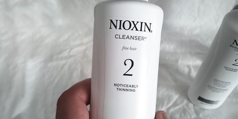 Nioxin Cleanser System 2 in the use