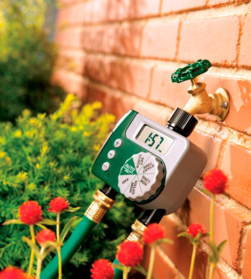 Review of Orbit 58910 2-Outlet Programmable Hose Faucet Timer