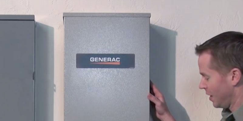 Generac RTSW200A3 Automatic Transfer Switch in the use