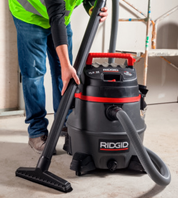 Review of Ridgid 50348 14 gallon 6.0 Peak HP Wet/Dry Vacuum with Cart