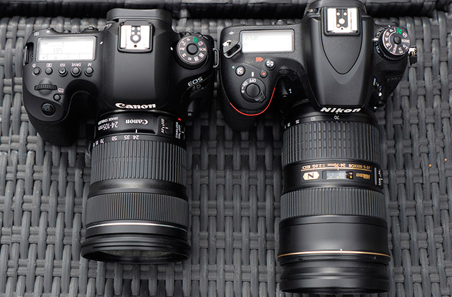 Comparison of Full-Frame DSLR Cameras
