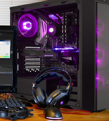 Review of Cooler Master MasterBox Pro 5 (MCY-B5P2-KWGN-01) Mid-Tower PC Case, 3 RGB Fans 120mm Temper Glass Side Panel