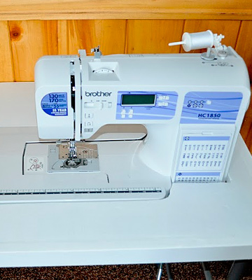 Review of Brother HC1850 Computerized Sewing and Quilting Machine