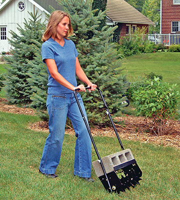 Review of Agri-Fab 45-0365 16-Inch Push Spike Aerator