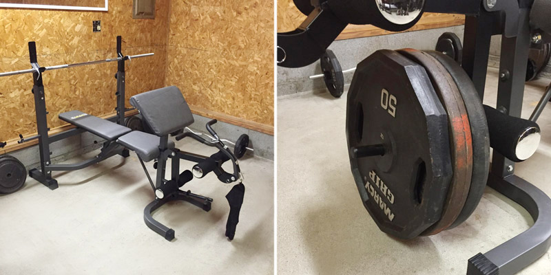 Detailed review of Body Champ BCB5860 Olympic Weight Bench