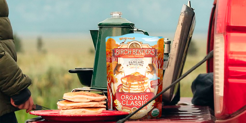 Review of Birch Benders Organic Pancake and Waffle Mix