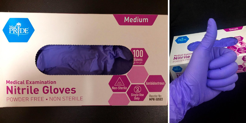 Review of Medpride Medical Examination Nitrile Glove