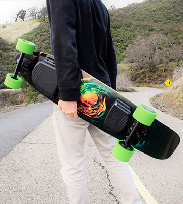 Review of Ride1UP 10S3P 4-Speed Electric Longboard