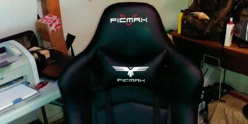 Review of Ficmax RE-FX-007 Gaming Chair (with Footrest, Bucket Seat and Lumbar Support)