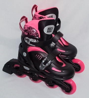 Review of High Bounce Rollerblades Adjustable Inline Skate