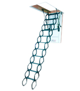 FAKRO 66875 Insulated Steel Scissor Attic Ladder
