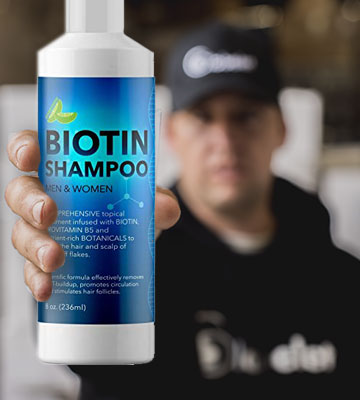 Review of Biotin B-Complex Formula Shampoo for Hair Growth