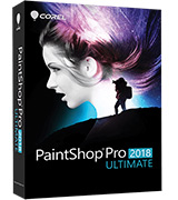 PaintShop Pro Photo editing software & bonus collection