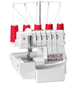 SINGER 14T968DC Professional 5-4-3-2 Thread Overlock with Auto Tension