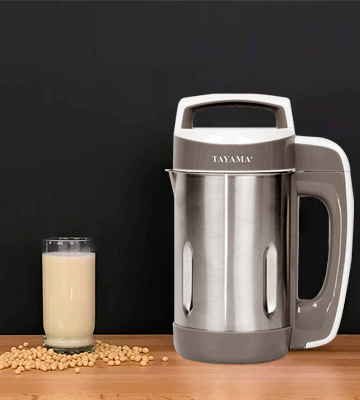 Review of TAYAMA DJ-15C Steel Soymilk Maker