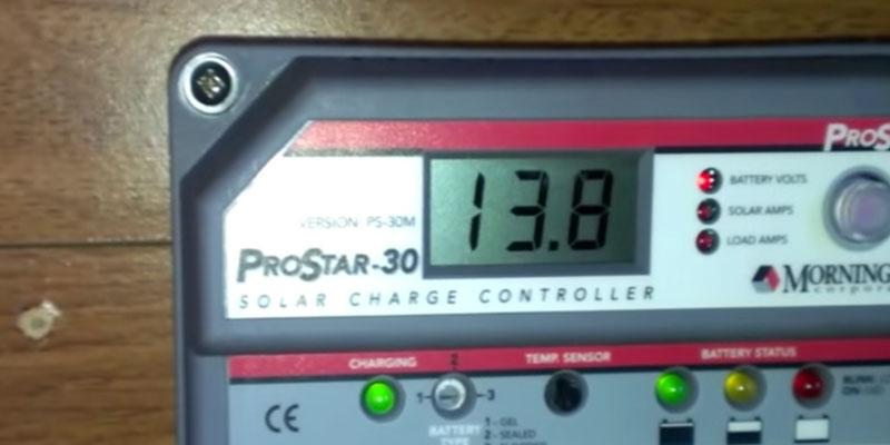 MorningStar ProStar PS-30 PWM Solar Charge Controller application