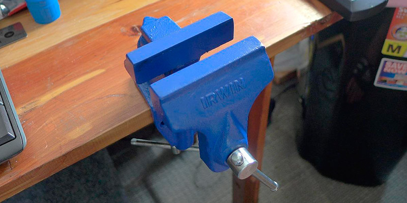 Review of IRWIN 226303ZR Clamp-On Bench Vise