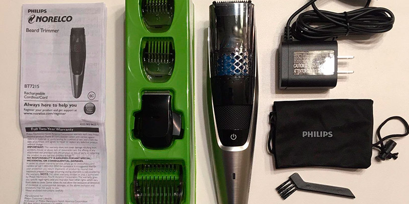 Review of Philips Norelco Series 7200 BT7215/49 Vacuum Beard trimmer