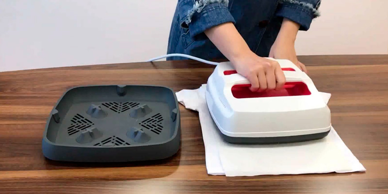 Review of O BOSSTOP 08888 Portable Heat Press Machine