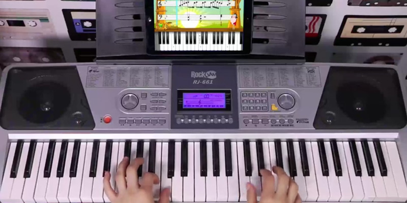 Review of RockJam Compact Digital Keyboard Piano for Kids