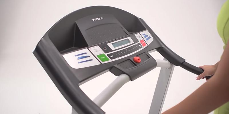 Weslo Cadence G 5.9 Treadmill in the use