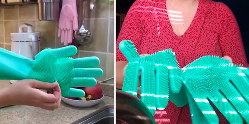 Review of SolidScrub Silicone Dishwashing gloves