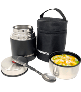 GRUB2GO Stainless Steel Food Jar Set