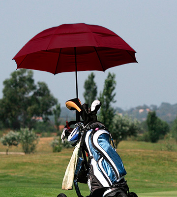 Review of EEZ-Y Compact Double Vented Windproof Travel Umbrella