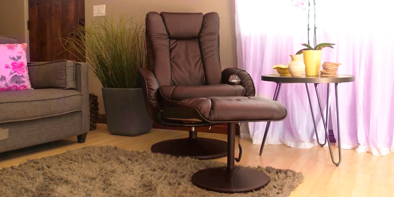 Review of Best Choice Products SKY2892 PU Leather Massage Recliner Ottoman , 5 Heat & Massage Modes