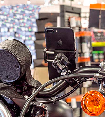 Review of Tackform Solutions 4333026683 Metal Motorcycle Mount for Phone